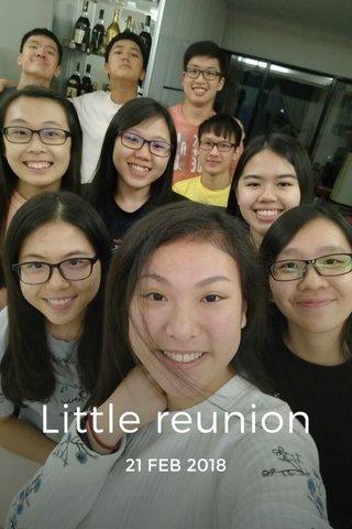 Little reunion 21 FEB 2018
