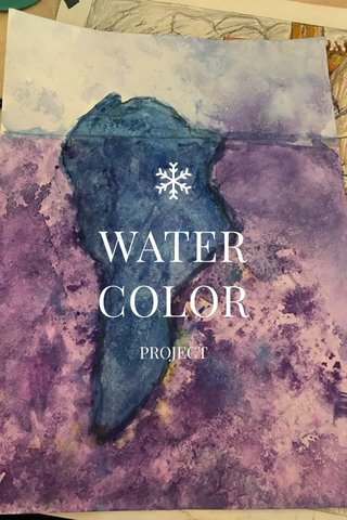 WATER COLOR PROJECT