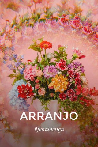ARRANJO #floraldesign