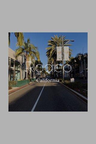 Rodeo California