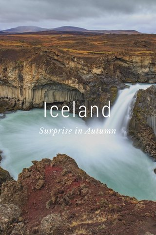 Iceland Surprise in Autumn