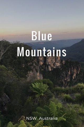 Blue Mountains NSW, Australia