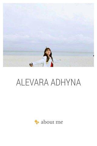 ALEVARA ADHYNA
