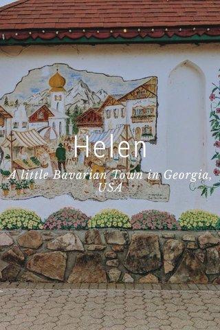 Helen A little Bavarian Town in Georgia, USA