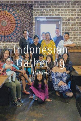 Indonesian Gathering Alabama