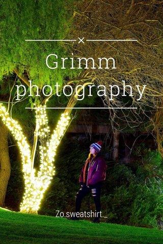 Grimm photography Zo.sweatshirt._