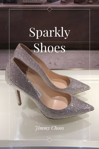 Sparkly Shoes Jimmy Choos