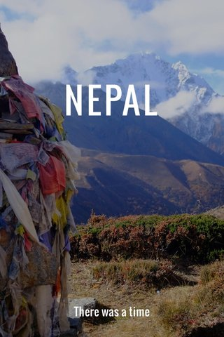NEPAL There was a time
