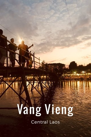 Vang Vieng Central Laos