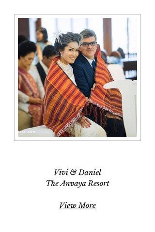 Vivi & Daniel The Anvaya Resort View More