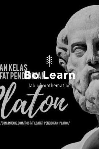 Bo Learn lab of mathematics
