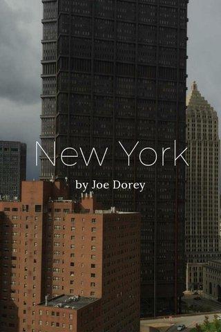 New York by Joe Dorey
