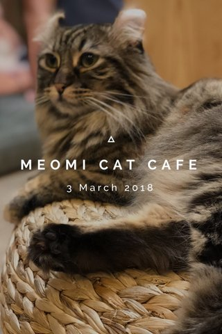 MEOMI CAT CAFE 3 March 2018