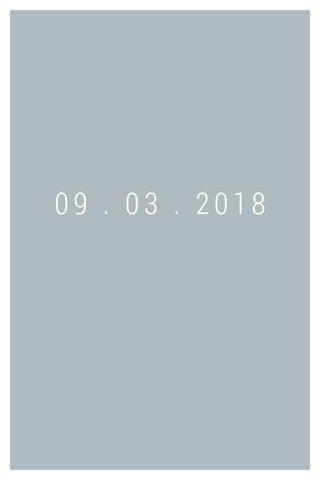 09 . 03 . 2018