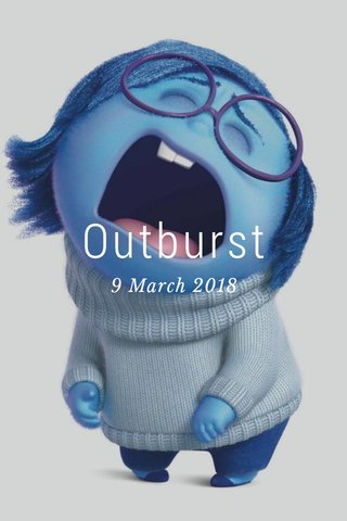 Outburst 9 March 2018