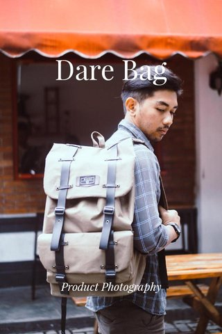 Dare Bag Product Photography