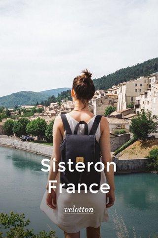 Sisteron France velotton