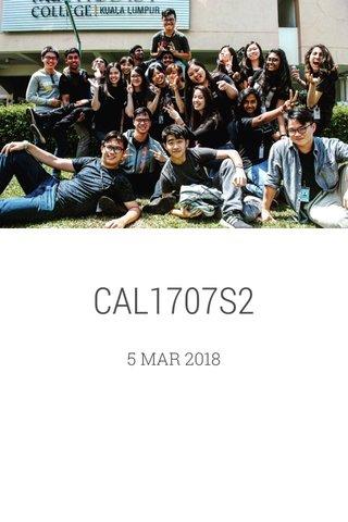CAL1707S2