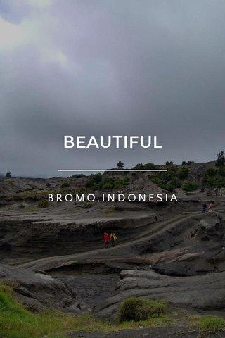 BEAUTIFUL BROMO,INDONESIA