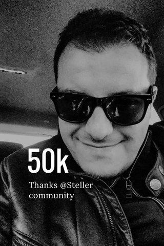 50k Thanks @Steller community