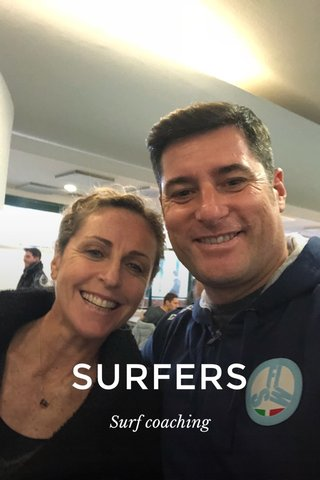 SURFERS Surf coaching