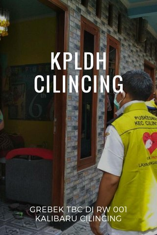 KPLDH CILINCING GREBEK TBC DI RW 001 KALIBARU CILINCING