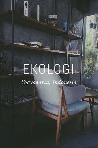 EKOLOGI Yogyakarta, Indonesia