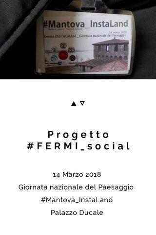 Progetto #FERMI_social