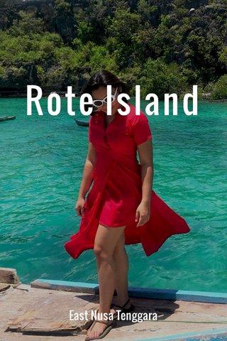 Rote Island East Nusa Tenggara