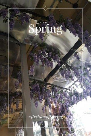 Spring #firstdayofSpring