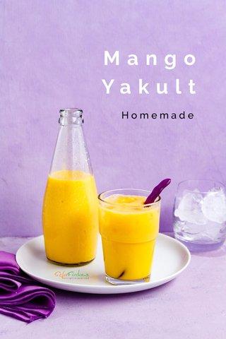 Mango Yakult Homemade