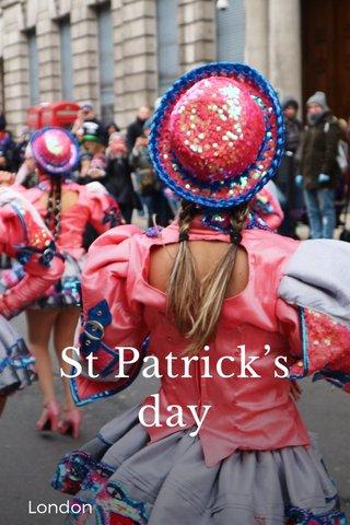 St Patrick's day London