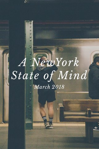 A NewYork State of Mind March 2018