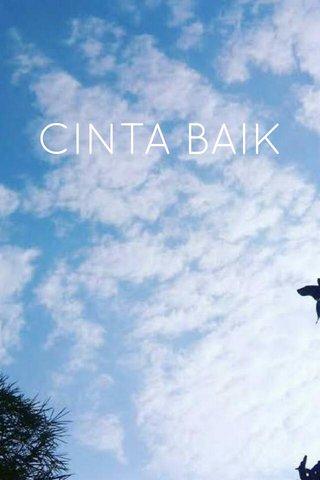 CINTA BAIK