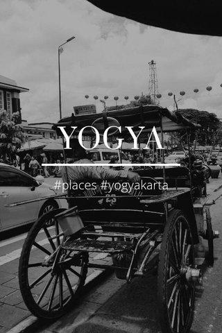 YOGYA #places #yogyakarta