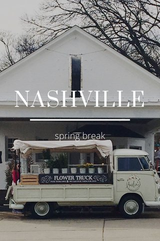 NASHVILLE spring break