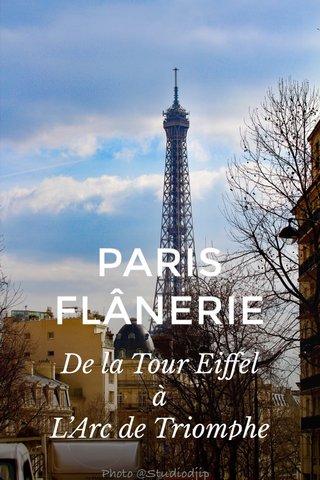 PARIS FLÂNERIE De la Tour Eiffel à L'Arc de Triomphe