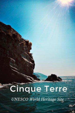 Cinque Terre UNESCO World Heritage Site