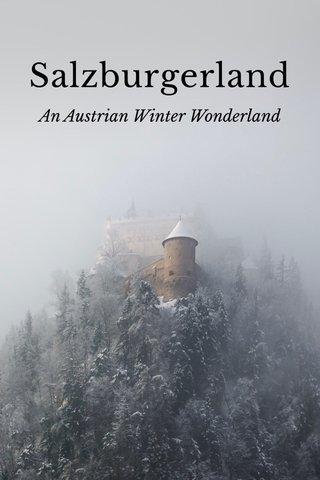 Salzburgerland An Austrian Winter Wonderland
