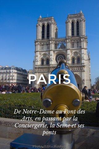 PARIS De Notre-Dame au Pont des Arts, en passant par la Conciergerie, la Seine et ses ponts