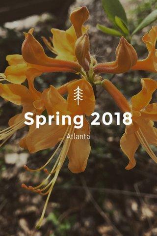 Spring 2018 Atlanta