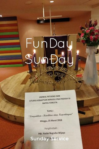 FunDay SunDay Sunday Service