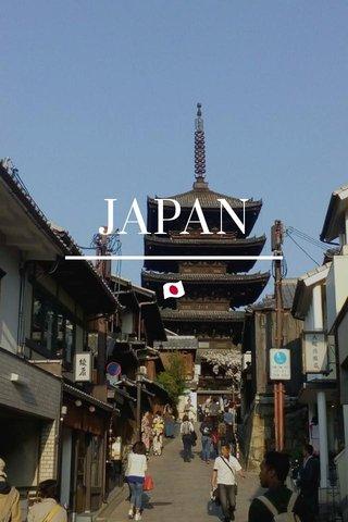 JAPAN 🇯🇵