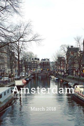 Amsterdam March 2018