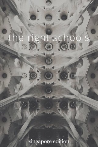 the right schools singapore edition