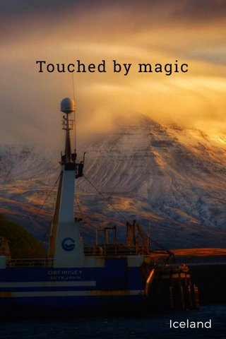 Touched by magic Iceland
