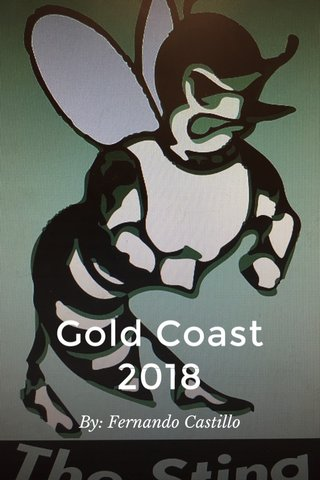 Gold Coast 2018 By: Fernando Castillo