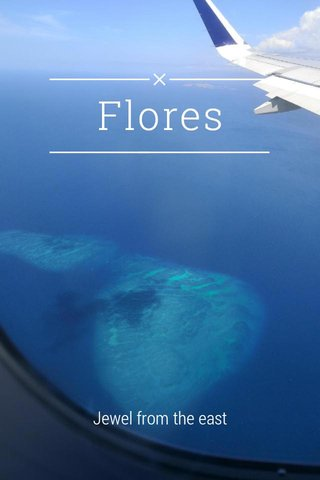Flores Jewel from the east