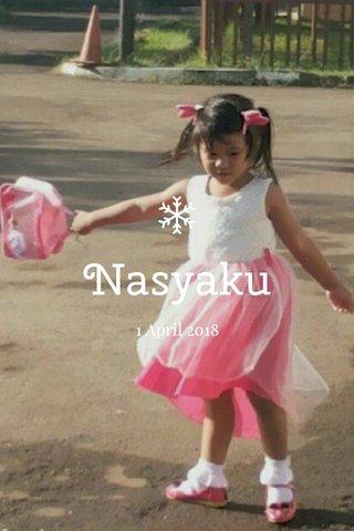Nasyaku 1 April 2018