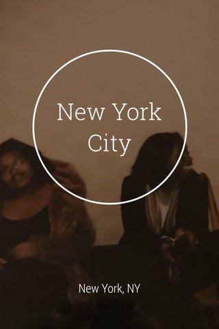 New York City New York, NY